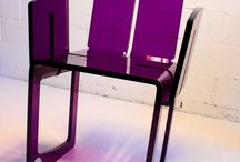 UNICA armchair / UNICA - stylish & elegant armchair. Cut out of a single piece of methacrylate with no waste of material