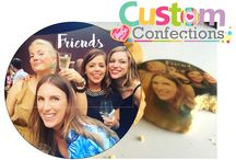 CustomConfections.com.au / Collection of product produced by Custom Confections. Edible printing onto lollies, sweets, biscuits, cookies and more.