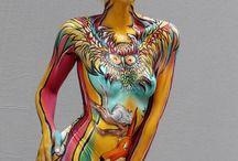 Body Painting Ideas  & Inspiration