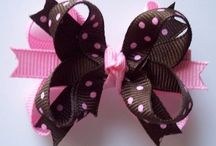 hair bows / by Lu Cooper