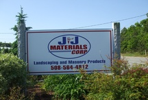 J&J Materials Corp. Bourne, MA / Not only can you find everything you need to complete your hardscape projects, but the staff is ready to help you calculate your product list!  Check out our beautiful showrooms and displays!