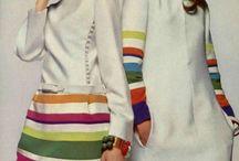 Fashion story 60-s  ХХ century - История моды 1960-е