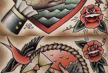 Tatuaggi vecchio stile