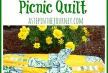 Picnic quilt ideas