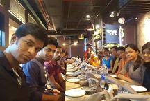 Team Lunch / Team Lunch at Mustake Multi Cuisine Restaurant.