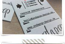 Design - business card design