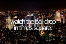 Bucket List / Things I plan to do sooner rather than later...