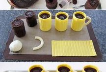 gâteaux trompe l'oeil