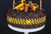 Construction/Builder Cake Smash Theme Inspiration