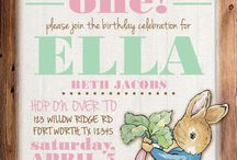 Themes: Peter Rabbit Party