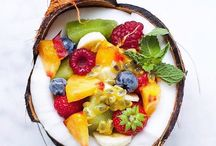 Delicious, fruits, sweets, smooties