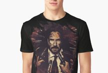 Movies and TV Legends T-shirts and Home decor