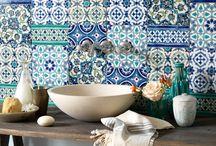 Patchwork tiles / Inspirational patchwork designs