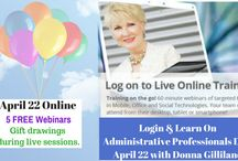 Administrative Professionals Day FREE Training / by Donna Gilliland