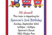 Train Party Ideas / by Andrea Gibson