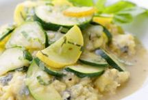 Zucchini and Summer Squash recipes / by Holly Bishop