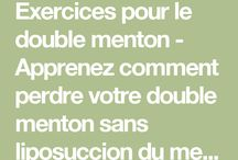 Double menton