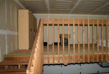 Garage storage/organization / by Cammie Huntley