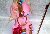 Music  theme cakes