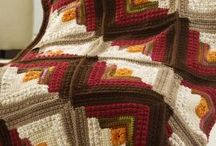 crochet or kniting blankets / Blankes