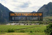 Canada/US Roadtrips