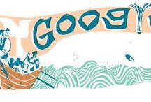 Doodles letterari / Una selezione dei doodles di Googles che celebrano libri e scrittori