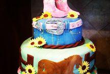 Birthday cake for grandchildren