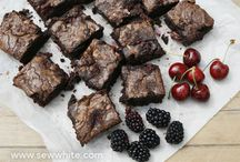 Bake up a Brownie / This board is for delicious, stylish, innovative or just plain good lookin brownies and blondies.