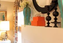 Mantle Ideas / Styling a mantle or shelf