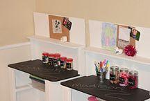 Daycare art area