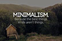 minimalism/slow life