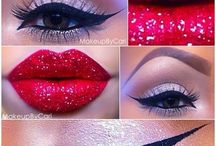 Christmas Costumes Makeup / Lots of ideas on costumes and makeup ideas for a Christmas themed party or event.