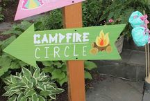Glamping party - 9th birthday / Girls parties