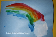 rainbow ST PAT ideas / by Donna Myers