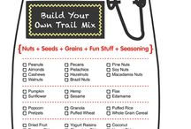 Snacks for the trail / Easy granola, trail mixes, and protein bars that will help sustain your energy in the great outdoors! / by Manitou Springs