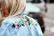Jeansjacke Patches