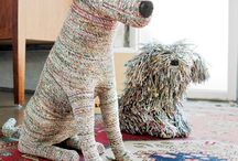 Sculptures Dogs