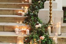 Candle & pearl wedding
