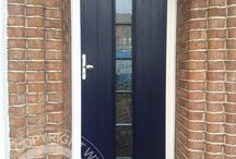 Solidor Florence Timber Composite Door / Selection of images featuring the Solidor Florence Timber Composite Door installed by ourselves part of the Italia Collection