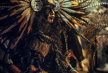 México prehispánico moderno fotografia