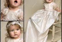 Christening Gowns / A collection of christening / blessing gowns both vintage and new.  / by Denise Zeman