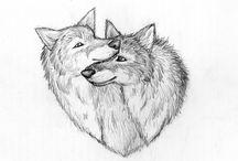 Vlky / Keď ich srsť vanie vo vetre, tiež máte ten pocit, ako ja?