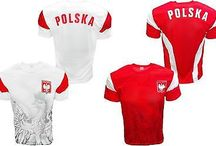 Polska Soccer Sports Clothes and Fan Items