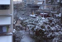 Χιόνια στην Αθήνα το 2017 / Για πρώτη φορά μετά από τόσα χρόνια χιόνισε στην Αθήνα!!!