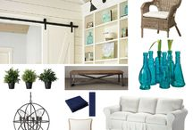 Mood Boards / My mood boards I created for certain spaces.