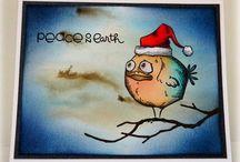 Zimní a vánoční přání