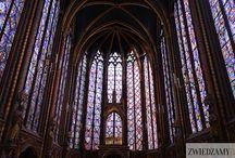Kaplica Sainte Chapelle / Kaplica Cainte Chapelle została zbudowana, aby przechowywać w niej Święte Relikwie Męki Pańskiej. Zobacz więcej na:  http://zwiedzamyparyz.pl/paryz-nieznany/kaplica-sainte-chapelle