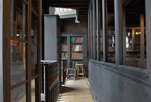 Mackintosh Library / The world-famous Mackintosh Library at Glasgow School of Art, designed by Charles Rennie Mackintosh in 1907-1909. The Library was sadly destroyed by fire on 23 May 2014. For information on how we plan to rebuild the Library and its collections, see http://lib.gsa.ac.uk/update-on-fire-affected-library-services/