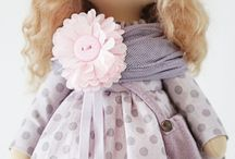Cuki kézműves baba