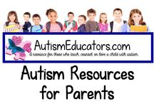 Autism Resources for Parents / Helpful information and resources for families who love a child with autism.  Please visit http://www.AutismEducators.com and click on the PARENT RESOURCES tab.  Enjoy!
